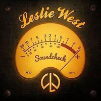WEST, LESLIE - SOUNDCHECK NEW VINYL RECORD