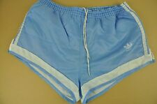 vtg Adidas Sprinter Shiny High Leg Shorts - Glanz Ibiza - Small #2388