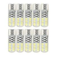 10X T10 W5W 24SMD 3014 LED Silica Strobe Flash Tail Light Bulb Brake Stop Lamp