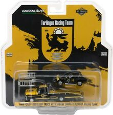 Greenlight H.D. 1969 Ford F-350 Ramp Truck with Shelby Cobra Terlingua Racing