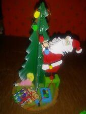 Vintage Schmid Emgee 1983 Taiwan Wooden Christmas Tree Ornament