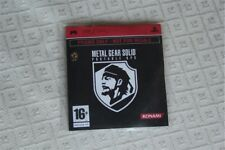 Metal Gear Solid Portable Ops Promo Disc Sony PSP PAL EUR MULTI ITALIANO rare