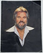 Vintage 70's KENNY ROGERS Country Music Concert Tour Book Rare!