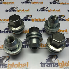 Land Rover Discovery 3 LR3 Stainless Capped Alloy Wheel Nut x5 - Bearmach Parts