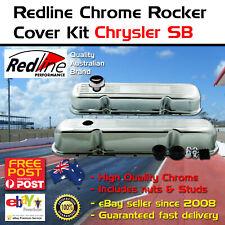 Chrome Rocker Valve Covers Fits Chrysler Sb 273 318 340 360 Kit Cap Studs