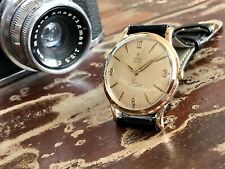 Tudor Rolex Prince Solid 9K Gold Mens 1960 vintage dress Automatic watch + Box