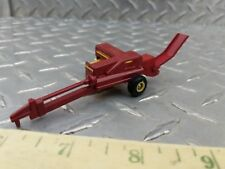 1/64 ertl custom ford new holland stack chute square baler hay straw farm toy