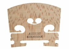 Aubert aged maple uncut violin bridge blank 1/8 size made in France free postage