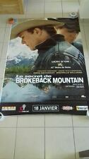 AFFICHE BROKEBACK MOUNTAIN 4x6 ft Bus Shelter D/S Movie Poster Original 2006