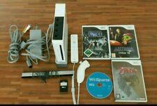 Nintendo WII Spielkonsole kompl. mit 4 Spielen
