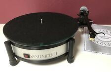 Systemdek II vintage audiophile turntable w. Rega RB200 arm