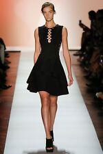 "NWT Herve Leger ""Esme"" S Scalloped Lace-up Cutout Bandage Dress - $1,790"