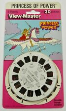 NEW SEALED VIEW-MASTER PRINCESS OF POWER 3 REELS 3-D (1985)