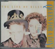 THE LIFE OF RILEY - Queen for a day PROMO CD SINGLE 1TR (EMI FRANCE) 1990 RARE!