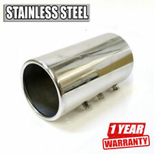 Universal Car Tuning Tip Muffler Trim Pipe Chrome Stainless Steel Durable