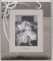 KATE SPADE NY LENOX BELLE BOULEVARD 8X10 WEDDING PHOTO FRAME HOLDS 5X7 DISPLAY
