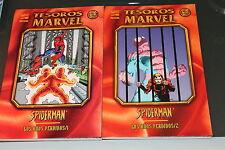 Spiderman Los Años perdidos completa 2 tomos Forum Coleccion tesoros Marvel