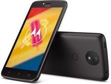 "Motorola Moto C plus 16GB starry black DualSIM LTE Android Smartphone 5"" Display"