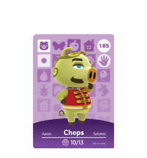 ANIMAL CROSSING AMIIBO SERIES 2 CARDS - ALL CARDS 101 > 200 NINTENDO 3DS & WII U