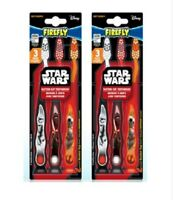 2-Pack Firefly Star Wars Rebels Kids Soft Toothbrush with Suction