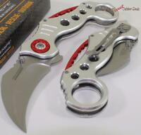 TAC-FORCE Hawkbill Karambit Eagle Claw Spring Assisted Opening Pocket Knife