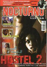 rivista NOCTURNO CINEMA ANNO 2007 NUMERO 59 HOSTEL 2