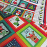 Makower Christmas 2017 100% cotton advent calendars & stocking panels