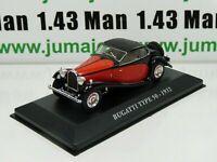 AUT12M Voiture 1/43 IXO altaya Voitures d'autrefois Bugatti type 50 1932