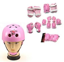 Elbow Knee Wrist + Helmet Protective Guard Gear Pads Skate Bicycle For Kids