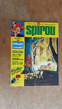 SPIROU N°1925 / DU 6 MARS 1975 / AVEC MAXI RÉCIT TILLIEUX / B+.