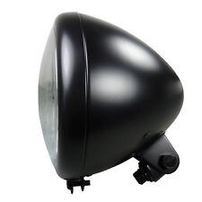 Motorrad Scheinwerfer schwarz im Springer Style Hauptscheinwerfer Halter unten