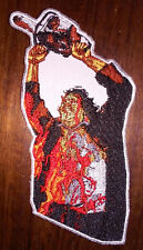 LEATHERFACE - Embroidered PATCH - The Texas Chainsaw Massacre -1974 saw - HORROR