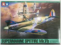Tamiya 61033 Supermarine Spitfire mk. VB 1/48 Kit modello NUOVO INSCATOLATO