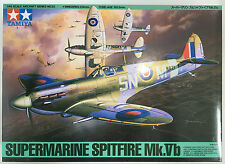 Tamiya 61033 1/48 Scale Supermarine Spitfire Mk.Vb Model Kit NIB