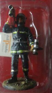 Del Prado-Figurine collection-Pompier de Paris 2003-En tenue de feu-sous blister