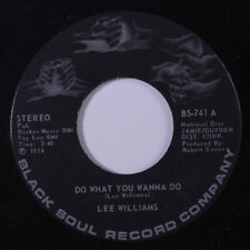LEE WILLIAMS: Do What You Wanna Do / Mother, Can Your Child Come Home 45 (sligh