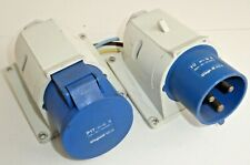 Pair of Legrand 32A CeeForm Surface Mount Plug and Socket