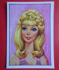 figurines prentjes cromos stickers picture cards figurine barbie 164 panini 1976