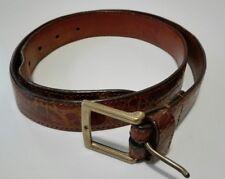Cintura - vero COCCODRILLO - tg. 90 - lavorazione artigianale - made in Italy