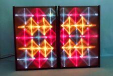 New pair Color Organ Light Displays DJ club disco sound activate de-ssco M-18-3D