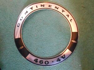 1968 1969 1970 1971 LINCOLN CONTINENTAL AND MARK 460 AIR CLEANER TOP LID DECAL