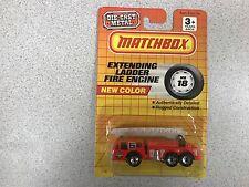 MATCHBOX EXTENDING LADDER FIRE ENGINE #5