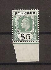 BRITISH HONDURAS 1904-7 SG 93 MNH Cat £375