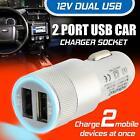 New Car Charger Port Dual Twin USB Cigarette Socket Lighter Adapter Samsung UK