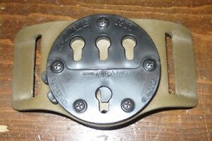"G-CODE RTI wheel 2"" belt slide holster adapter mount coyote brown kydex waist"