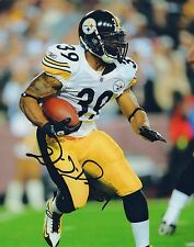 Willie Parker Pittsburgh Steelers Hand Signed 8x10 Autographed Photo COA NFL 1