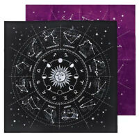 Card Games 12 Constellations Tarot Card Mat Tarot Tablecloth Tarot Card Cloth