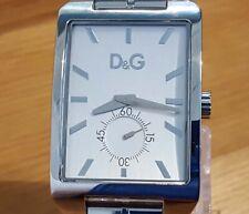 Mens XL Steel Bracelet Dolce & Gabbana D&G Colorado DW0659 Designer Analog Watch