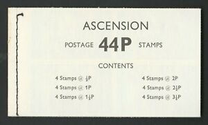 Ascension 1971 44p Complete booklet '5/71' Imprint SG SB2a.