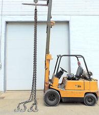 "Cm Columbus Mckinnon 3/4"" X 18' Adjustable Quad Sling Chain Wll Herc-Alloy 800"